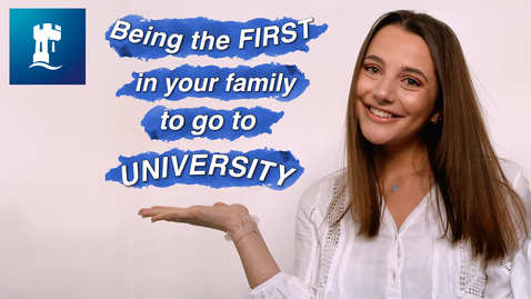 Thumbnail for entry Vlog: Being the first in your family to go to university