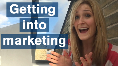 Thumbnail for entry Vlog: 5 tips for getting into marketing with an Arts degree