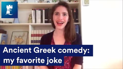 Thumbnail for entry Ancient Greek Comedy: my favorite joke