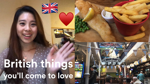 Thumbnail for entry Vlog: BRITISH things you'll come to love as an INTERNATIONAL STUDENT 😍