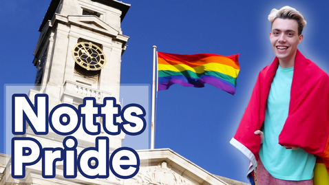 Thumbnail for entry Raising the flag for #NottsPride 2018 🌈🏳️🌈