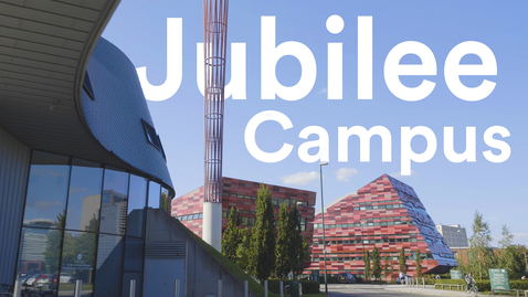 Thumbnail for entry Jubilee Campus tour | University of Nottingham