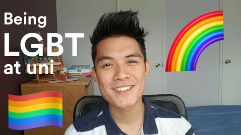 Thumbnail for entry Vlog: Being LGBT+ at uni 🌈