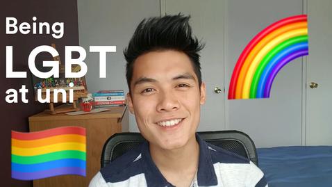 Thumbnail for entry Vlog: Being LGBT+ at uni 🌈