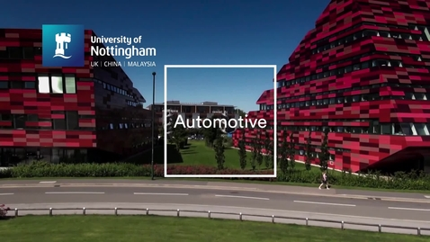 Thumbnail for entry Automotive at Nottingham