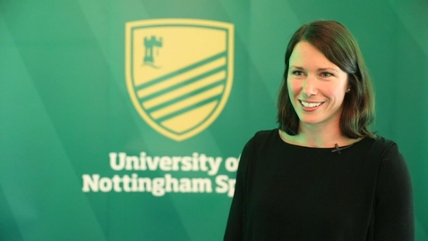 Thumbnail for entry Annie Panter – University of Nottingham Sport Hall of Fame