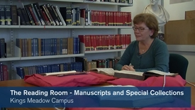 Thumbnail for entry The Reading Room - Manuscripts and Special Collections