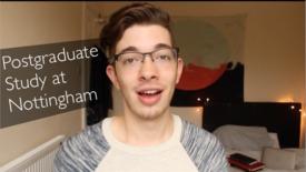 Thumbnail for entry Vlog: Postgraduate Study
