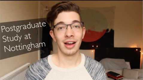 Thumbnail for entry Vlog: Postgraduate Study