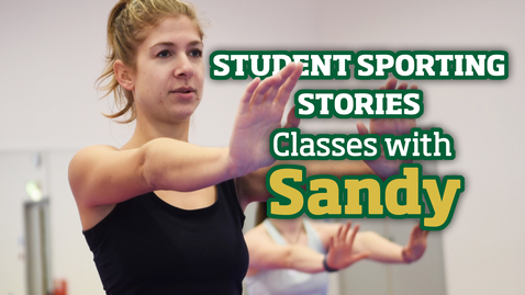 Thumbnail for entry Student Sporting Stories | Classes with Sandy