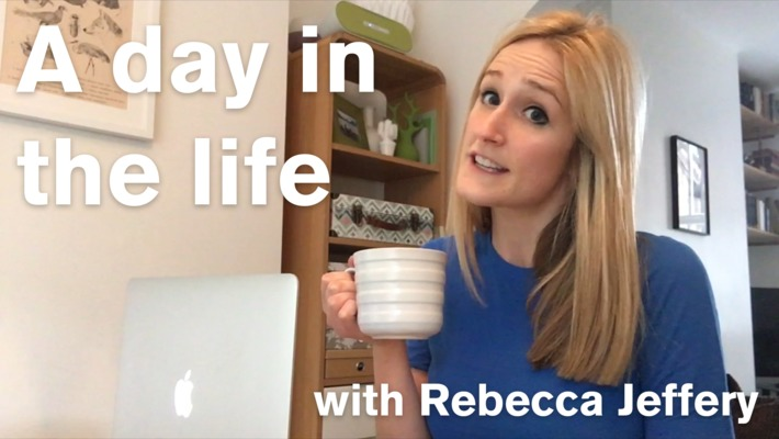 Vlog: A day in the life of BBC Apprentice candidate Rebecca Jeffery