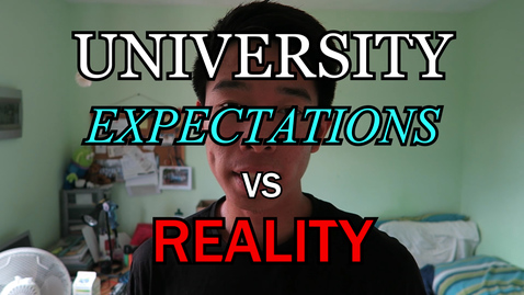Thumbnail for entry Vlog: Expectations vs. reality