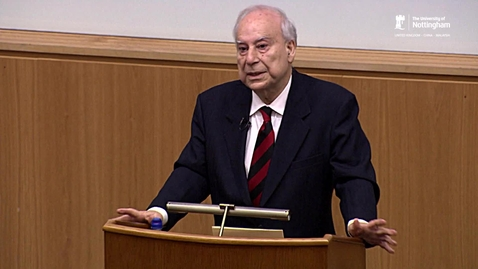 Thumbnail for entry Muslims in Europe - Opportunities and Challenges - a lecture by Professor Akbar Ahmed