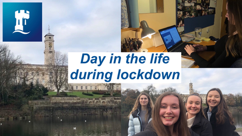 Thumbnail for entry Vlog: Day in the life at uni during lockdown