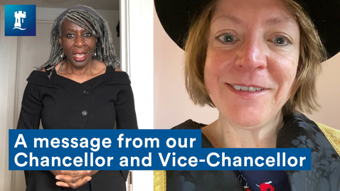 Thumbnail for entry Class of 2020 winter graduates - a message from our Chancellor and Vice-Chancellor