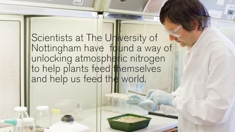 Thumbnail for entry Nitrogen-fixing bacteria helps crops to 'feed' themselves