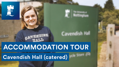Thumbnail for entry Uni Park Campus - Cavendish Hall (catered accommodation)