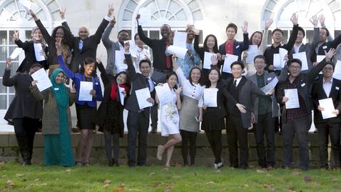Thumbnail for entry International Scholarship Award Celebration 2013 Photographs