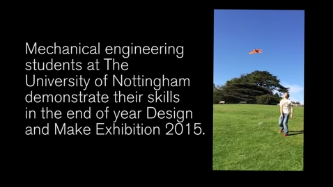 Thumbnail for entry Autonomous sail boats, unmanned aircraft and pedalling robots - all in a day's work for a mechanical engineering student.