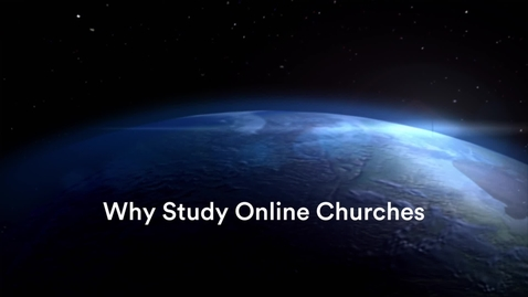 Thumbnail for entry Why Study Online Churches with Tim Hutchings