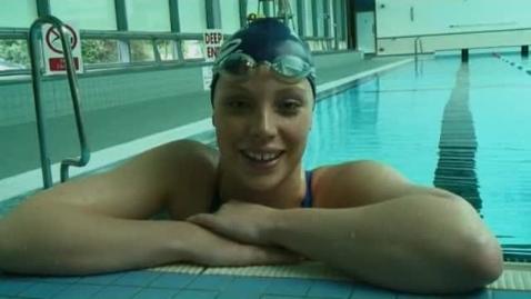 Thumbnail for entry Jess Sylvester - Olympic hopeful