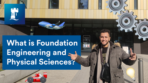 Thumbnail for entry Vlog: What is FEPS? (Foundation Engineering and Physical Sciences)