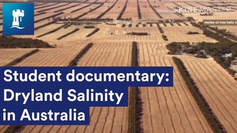 Thumbnail for entry Dryland Salinity in Australia