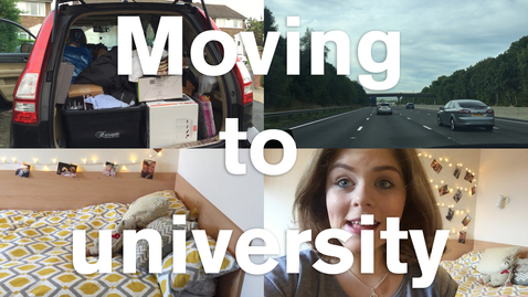 Thumbnail for entry Vlog: Moving to university