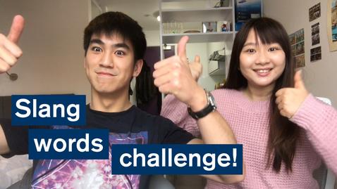 Thumbnail for entry Vlog: Slang words challenge! London Vs. Singapore