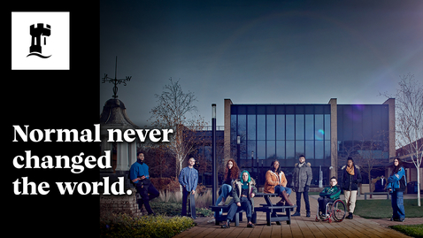 Thumbnail for entry Normal Never Changed the World: Join the University of Nottingham in 2022