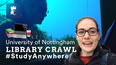 Thumbnail for entry VLOG: Library Crawl #StudyAnywhere