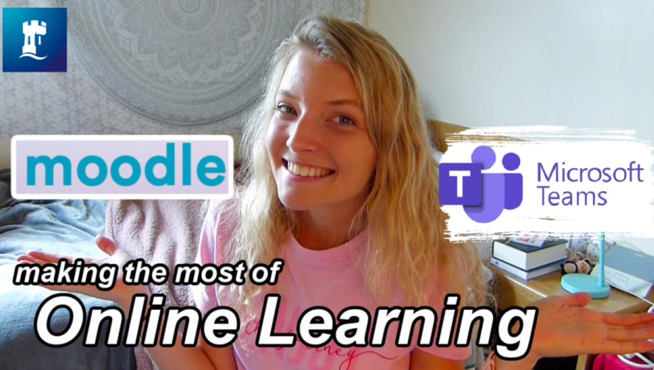 Vlog: Making the most of online learning at uni in 2020
