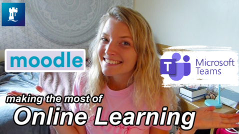 Thumbnail for entry Vlog: Making the most of online learning at uni in 2020
