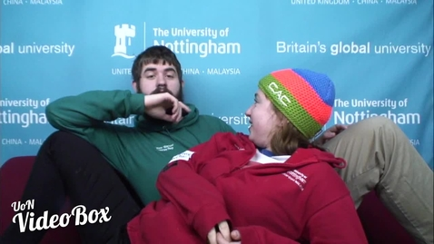 Thumbnail for entry Everyone should have a mince pie and mulled wine evening... | #UoNVideoBox