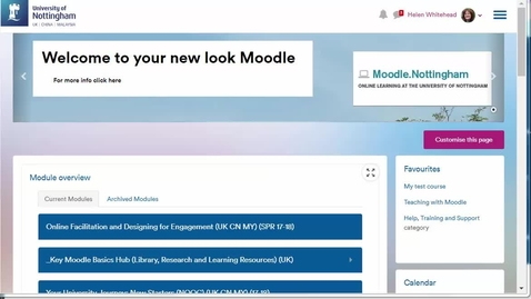 Thumbnail for entry Enrolling users in Moodle 3.4