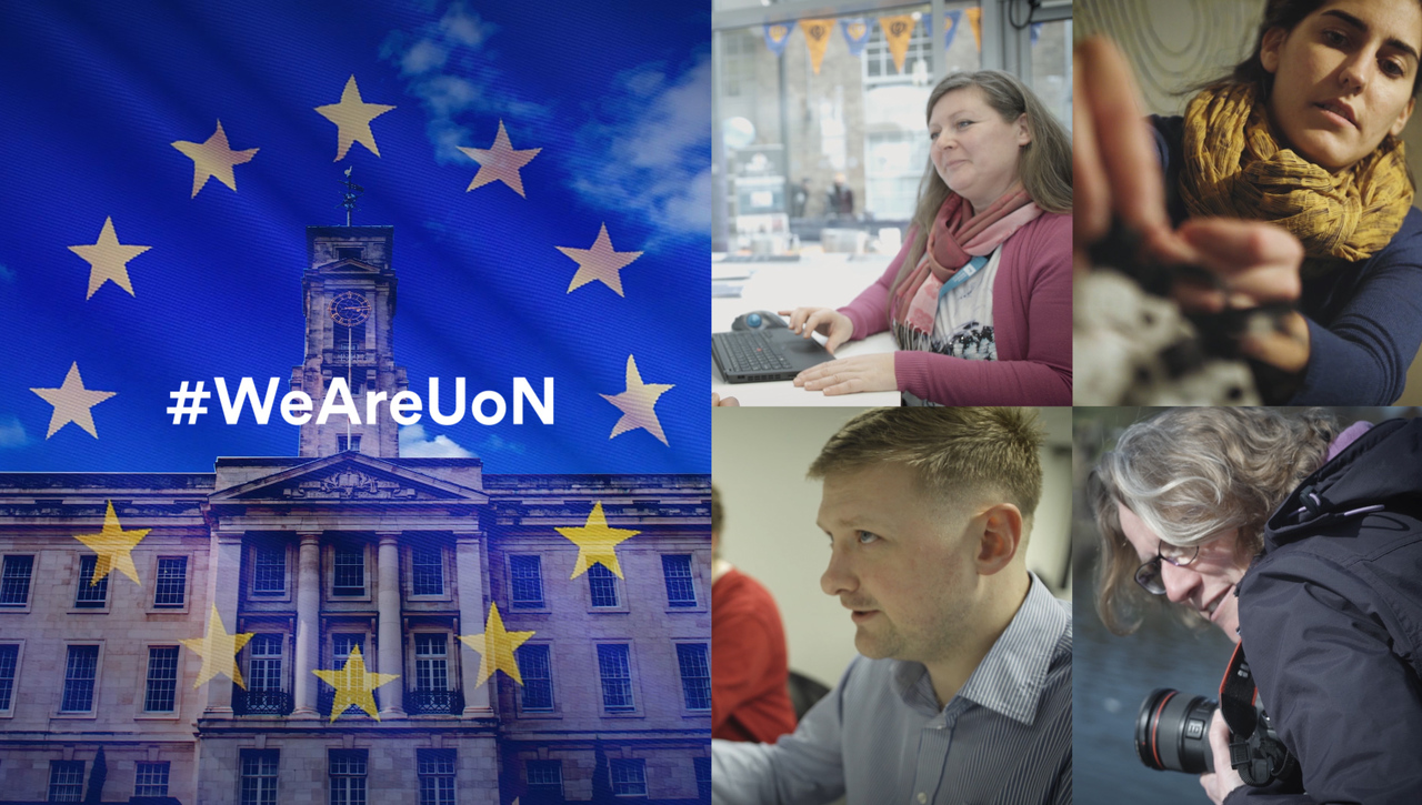 #WeAreUoN Celebrating our EU staff