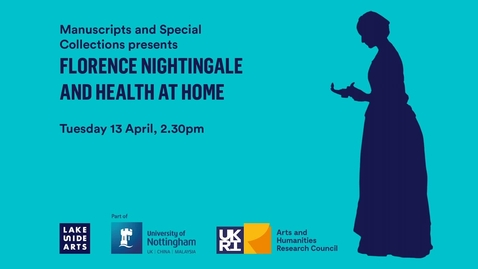 Thumbnail for entry Florence Nightingale and Health at Home