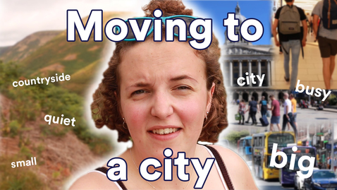 Thumbnail for entry Vlog: Adjusting to life in a city