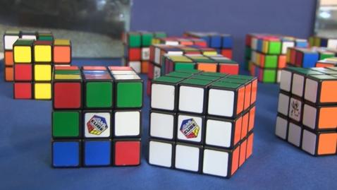 Thumbnail for entry Open days: solving the Rubik's cube workshop