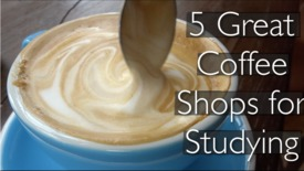 Thumbnail for entry Vlog: 5 best coffee shops for studying
