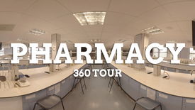 Thumbnail for entry School of Pharmacy 360 facilities tour