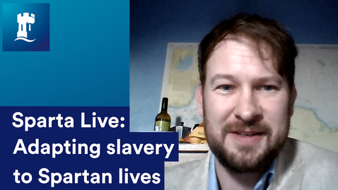 Thumbnail for entry Sparta Live: Adapting slavery to Spartan Society