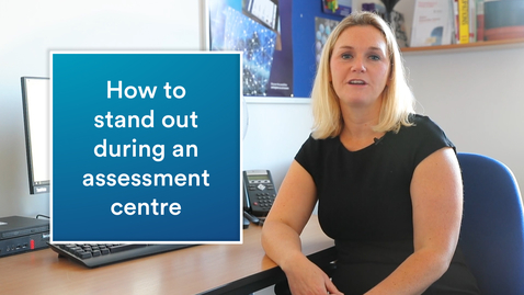 Thumbnail for entry Career advice | How to ace an assessment centre