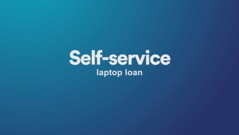 Self-service laptop loan lockers in our libraries