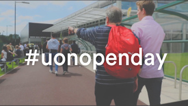 Thumbnail for entry Make the most of your UoN Open Day
