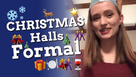 Thumbnail for entry Vlog: Derby Hall Christmas Formal 🎄🍽