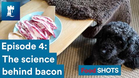 Thumbnail for entry FoodSHOTS Episode 4: Bacon