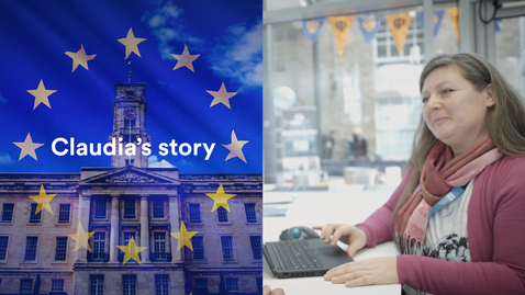 Thumbnail for entry #WeAreUoN Claudia's story