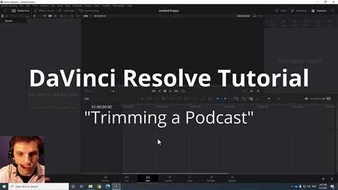 Thumbnail for entry How to Trim Podcast in DaVinci Resolve