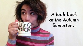Thumbnail for entry Vlog: Autumn semester review